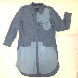 MARC by MARC JACOBS Denim Shirt Dress Sz S